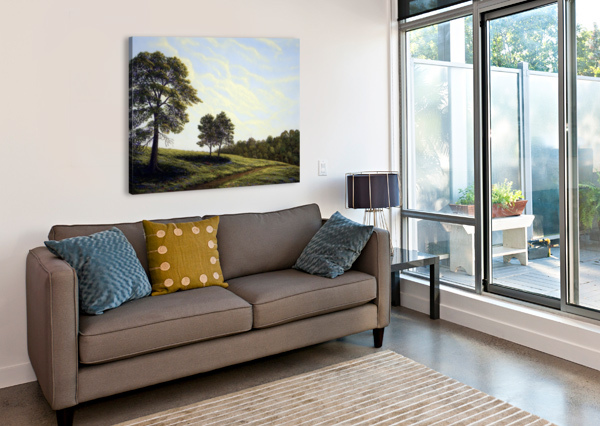 APRIL AFTERNOON FRANK WILSON  Canvas Print