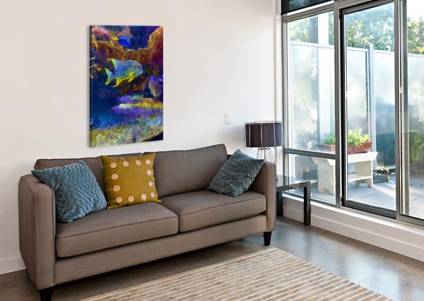 VENTURE INTO UNKNOWN NISURIS ART  Canvas Print