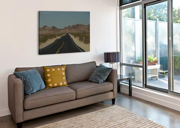 DESERT WAVE BERN E KING PHOTOGRAPHY  Canvas Print