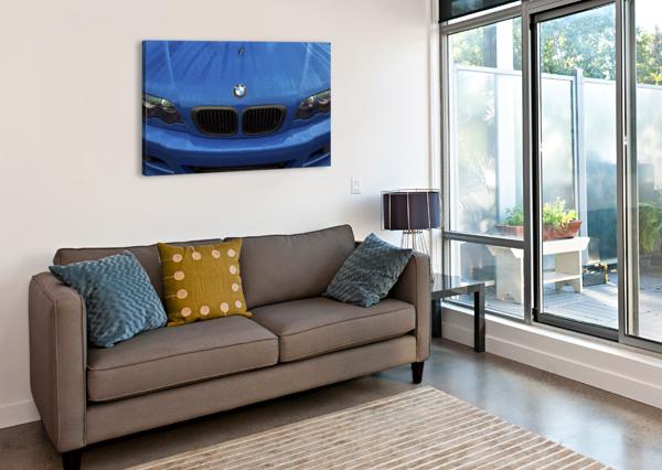 BMW BLU REIGN DAS ERBE  Canvas Print