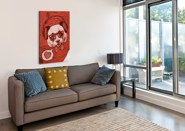 COOL PANDA BELCHIOR CANIZO  Canvas Print