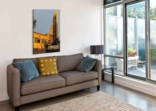 VARSITY THEATER  LISA DREW MINNEAPOLIS PHOTO ARTIST  Canvas Print