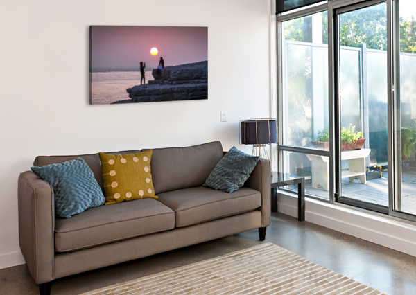 PHOTO OPPORTUNITY AT NASH POINT LEIGHTON COLLINS  Canvas Print