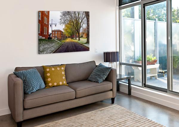 AUTUMN ON THE PARADE GROUND ANGELINA V CORONADO  Impression sur toile