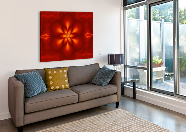 FIRE FLOWERS 10 SHERRIE LARCH  Canvas Print