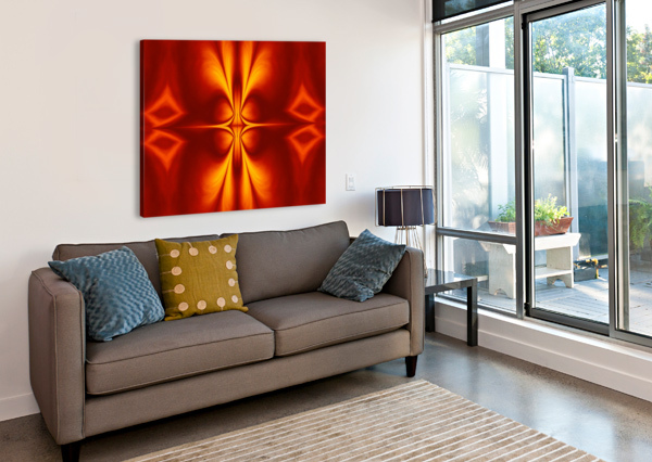 FIRE FLOWERS 12 SHERRIE LARCH  Canvas Print