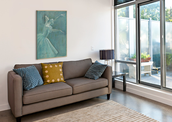 0052 EGALITARIAN ART GALLERY  Canvas Print