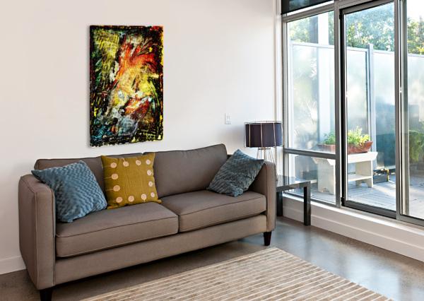 CELEBRATION TIME HELMUT LICHT  Canvas Print