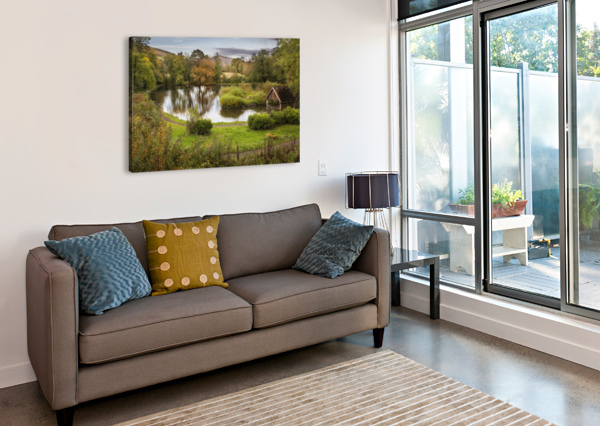 CRAIG-Y-NOS COUNTRY PARK LEIGHTON COLLINS  Canvas Print