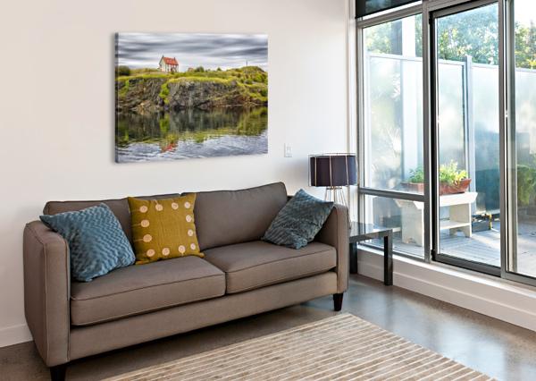 TRINITY HOUSE REFLECTION CARMEL STUDIOS  Canvas Print