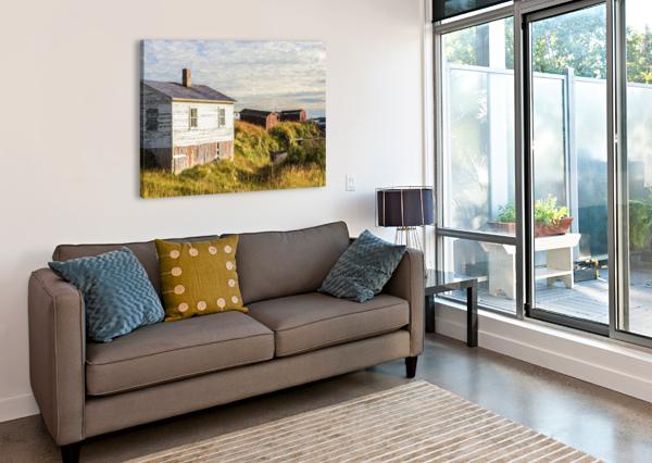 NEW BONAVENTURE SUNSET CARMEL STUDIOS  Canvas Print