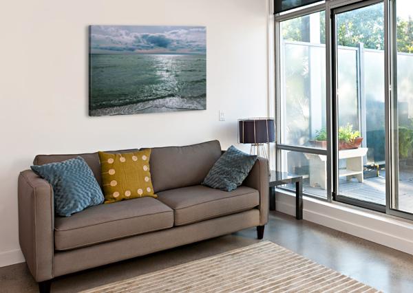 SERENITY AT SANTA ROSA BEACH BROKEN COMPASS LIFE PHOTOGRAPHY  Canvas Print
