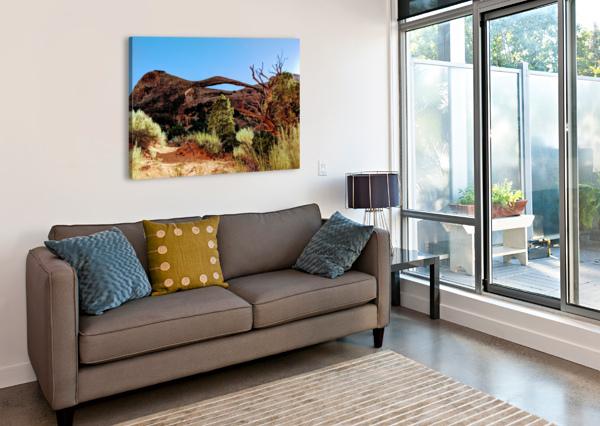 LANDSCAPE ARCH I BROKEN COMPASS LIFE PHOTOGRAPHY  Canvas Print
