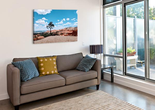 BRYCE CANYON V BROKEN COMPASS LIFE PHOTOGRAPHY  Canvas Print