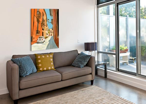 LECCE BART E SLYP  Canvas Print