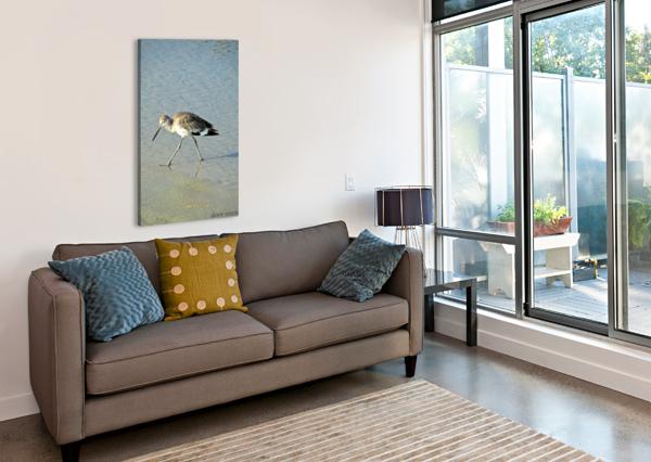 BA BUM BIRD DAWNRETTEW  Canvas Print