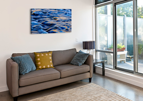 FLOWING REFLECTIONS 5 THE FEATHER COTTAGE  Canvas Print