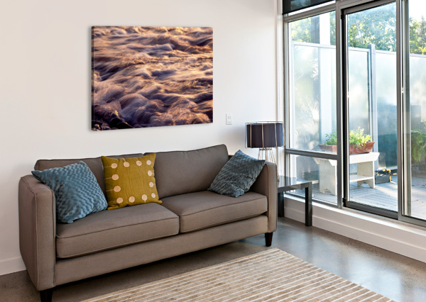 LAKE ERIE WAVES 6 THE FEATHER COTTAGE  Canvas Print