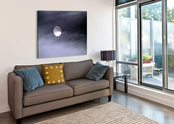 FULL MOON ARIZONA PHOTOS BY JYM  Canvas Print
