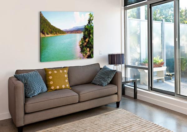 UTAH LAKE ARIZONA PHOTOS BY JYM  Impression sur toile
