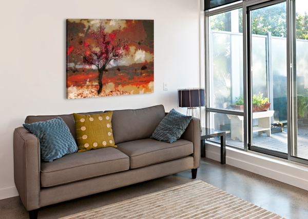 SUMMER CHERRY TREE DAGMAR MARINA  Canvas Print