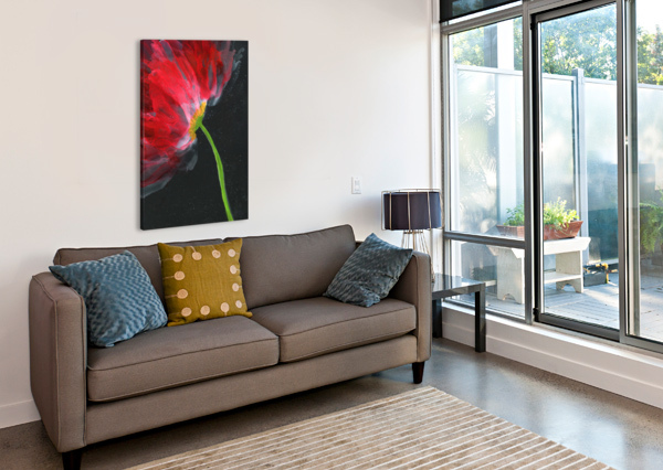 FANTASTICAL FLOWER MICHELLE ERICKSON  Canvas Print