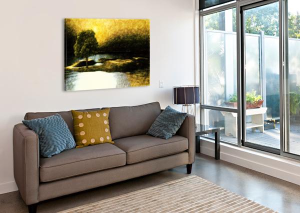 THE TREE DAGMAR MARINA  Canvas Print