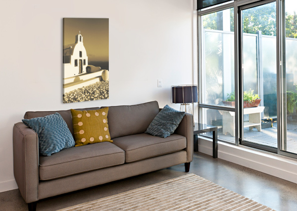 THE SMALL CHAPEL BENTIVOGLIO PHOTOGRAPHY  Canvas Print