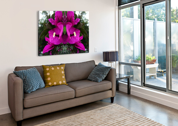 FLOWER90 CARLOS MANZCERA  Canvas Print