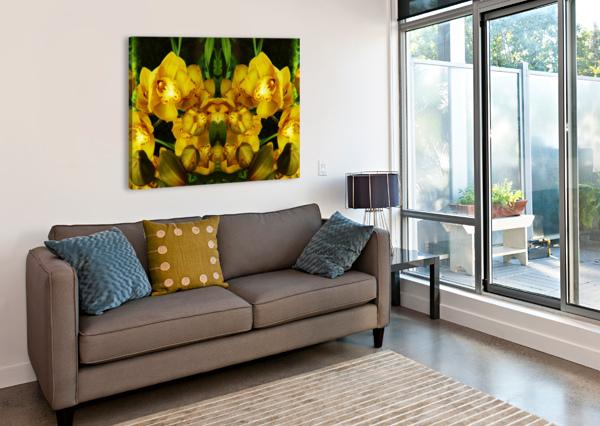 FLOWER65 CARLOS MANZCERA  Canvas Print