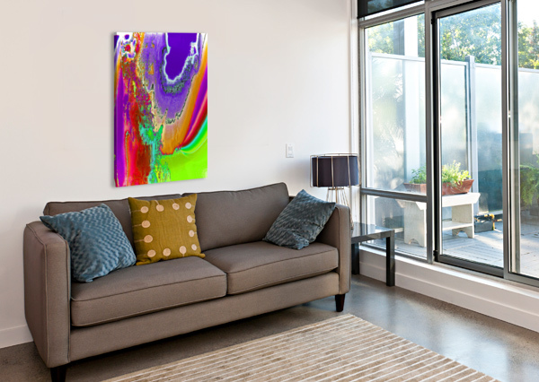 SACRED COLORS HELMUT LICHT  Canvas Print