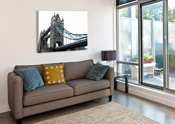 LONDON TOWER BRIDGE BENTIVOGLIO PHOTOGRAPHY  Canvas Print