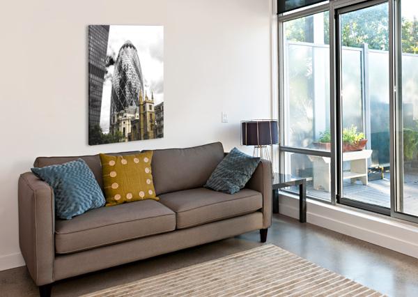 THE SKYSCRAPER BENTIVOGLIO PHOTOGRAPHY  Impression sur toile