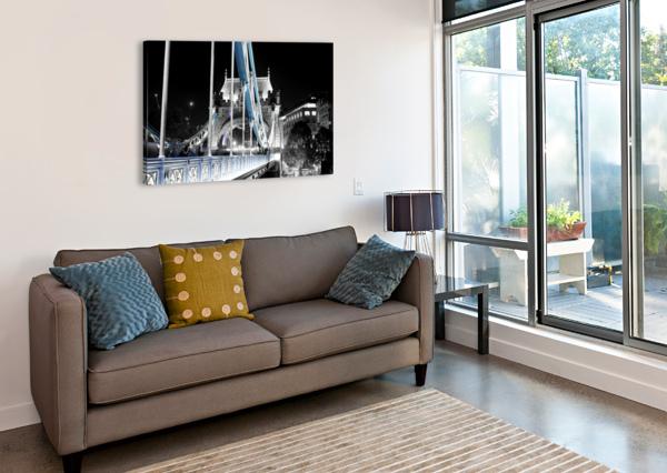 TOWER BRIDGE BENTIVOGLIO PHOTOGRAPHY  Canvas Print