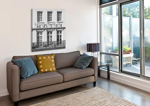 HOTEL IN WINDOSR ASSAF FRANK  Canvas Print