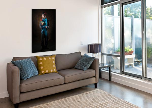 AUGUSTE ET ROSE DANIEL THIBAULT ARTISTE-PHOTOGRAPHE  Canvas Print