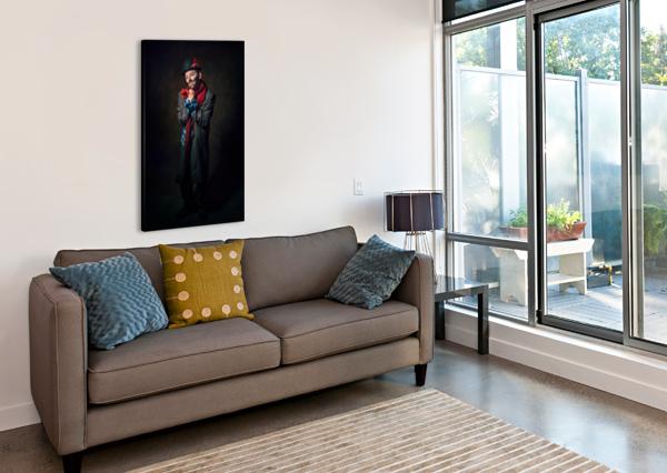AUGUSTE TRISTE DANIEL THIBAULT ARTISTE-PHOTOGRAPHE  Canvas Print