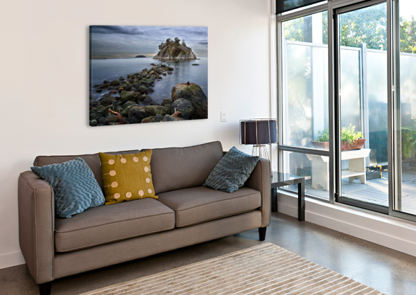 WHYTECLIFF PARK AMAZING VANCOUVER & BEAUTIFUL BRITISH COLUMBIA BY JORGE LIGASON  Canvas Print