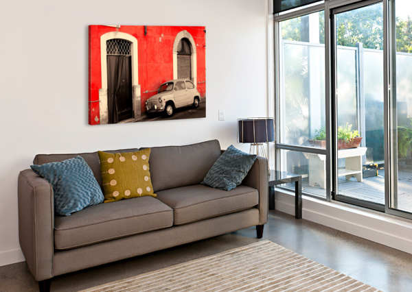 THE OLD CAR BENTIVOGLIO PHOTOGRAPHY  Canvas Print