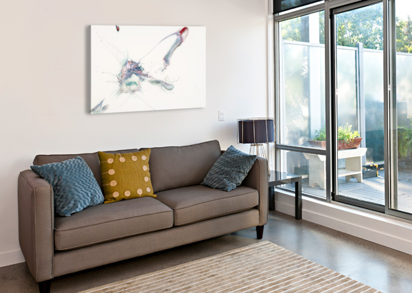 UPLIFT CARLA WHITE  Canvas Print