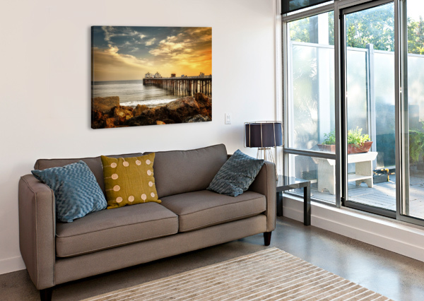 MALIBU SUMMER  JONGAS PHOTO  Canvas Print