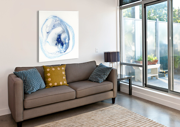 PELAGIC CARLA WHITE  Canvas Print