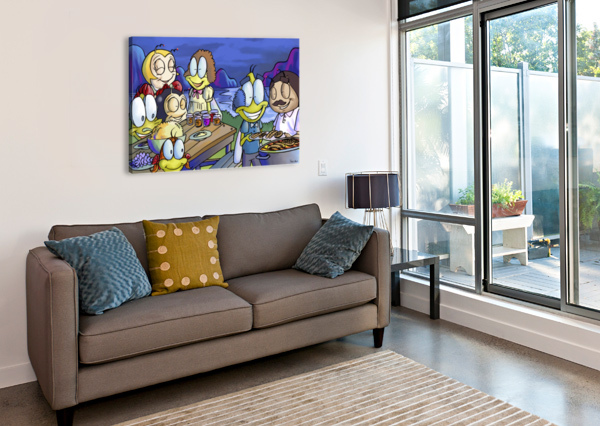 A DREAM OF SUMMER - FAMILY ROBERT STANEK  Canvas Print