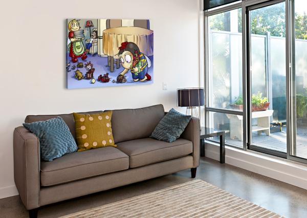 TOY PARADE - BUGVILLE CRITTERS ROBERT STANEK  Canvas Print