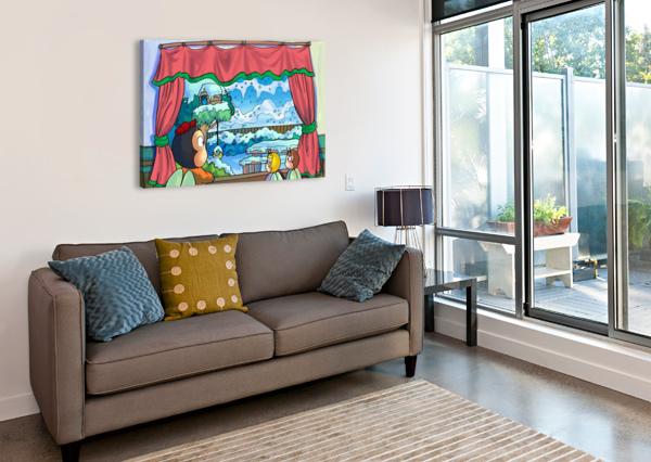 SNOW STORM ROBERT STANEK  Canvas Print