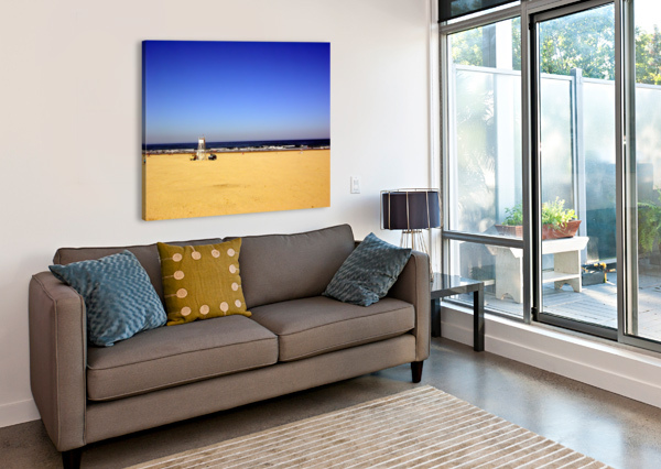 OREGON COAST   GOLDEN SANDS 360 STUDIOS  Canvas Print