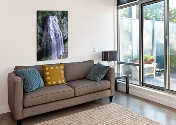 NARADA FALLS AT MOUNT RAINIER PACIFIC NORTHWEST 360 STUDIOS  Canvas Print