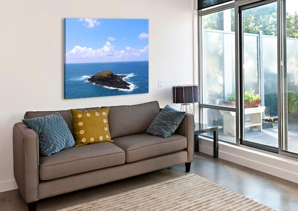 SECRET ISLAND 360 STUDIOS  Canvas Print
