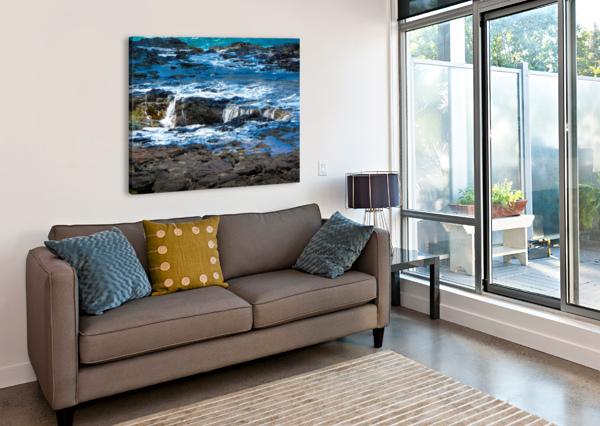 AT THE BAY 360 STUDIOS  Canvas Print