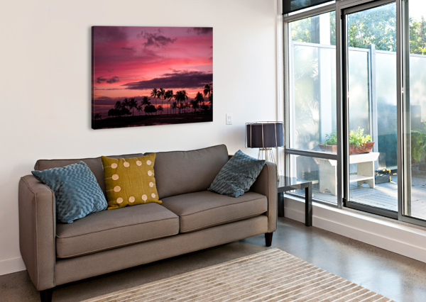 EASE INTO THE NIGHT 360 STUDIOS  Canvas Print